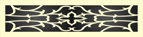 Декоративная решетка Антика