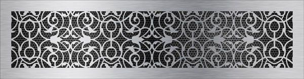 нержавеющая решетка арабеска