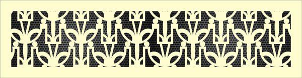 Декоративная решетка Арт-деко