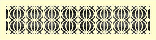 Декоративная решетка Фенхель