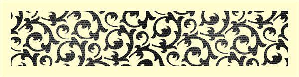 Декоративная решетка Флор