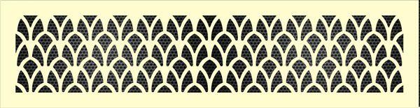 Декоративная решетка Ирис
