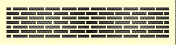 Декоративная решетка Кирпичная кладка