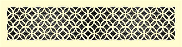 Декоративная решетка Кольца