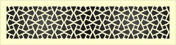 Декоративная решетка Конус