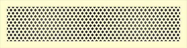 Декоративная решетка Крестоцвет