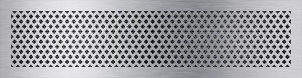 нержавеющая решетка крестоцвет