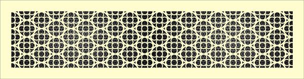 Декоративная решетка Круги