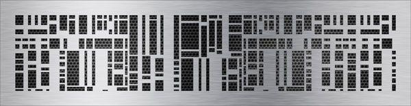нержавеющая решетка кубы