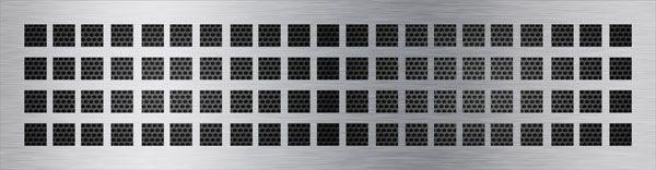 нержавеющая решетка квадраты