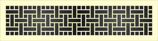 Декоративная решетка Лабиринт