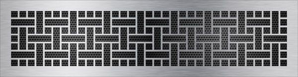 нержавеющая решетка лабиринт