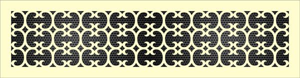 Декоративная решетка Райс