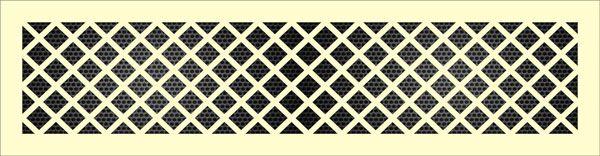 Декоративная решетка Ромбы