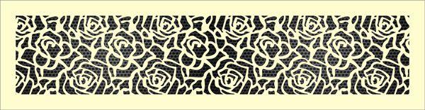 Декоративная решетка Роза