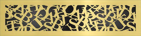 решетка Шрифт