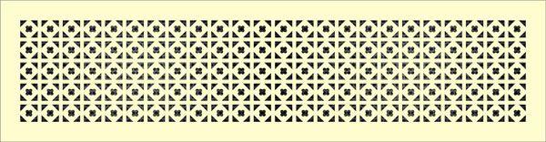 Декоративная решетка Треугольный клевер