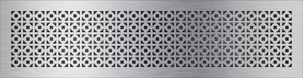 нержавеющая решетка треугольный клевер