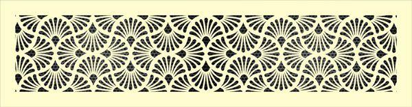 Декоративная решетка Веер
