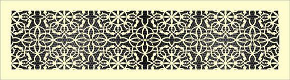 Декоративная решетка Версаль
