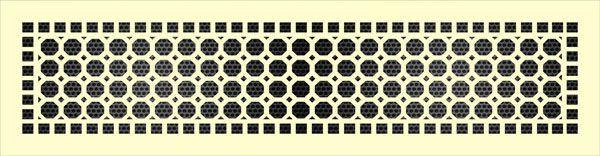 Декоративная решетка Восьмиугольник в рамке